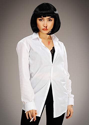 Magic Box Womens Pulp Fiction Style Mia Costume Kit Amazon Co Uk Pet Supplies