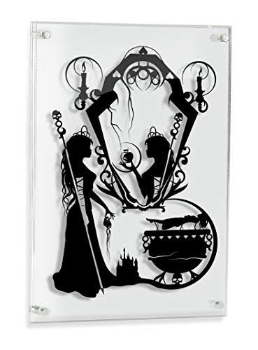 Evil Queen Snow White - hand cut paper art ()