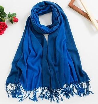Foulards d automne et d hiver,Écharpe chaude,Foulards de couleur unie d2aad6a1f04b