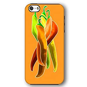 Colorful Chile Peppers For Iphone 6Plus 5.5Inch Case Cover Armor Phone Case