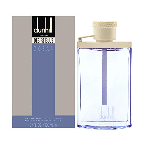 (Dunhill Desire Blue Ocean By Dunhill for Men - 3.4 Oz Edt Spray, 3.4 Oz)