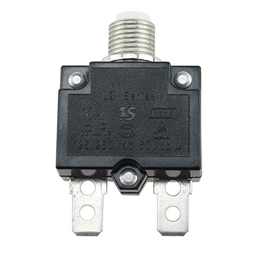 Circuit Breakers - 5a 10a 15a 20a 30amp Push Button Air Switch Circuit  Breaker Panel Mount Electric Protection - Treadmill Home Circuit Mobile  Square
