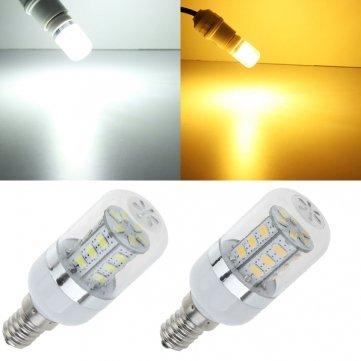 Alta calidad e14 bombilla LED 24 SMD 5630 4.5 W Blanco/cálido blanco maíz luz Ac 85 - 265 V - luz blanca cálida: Amazon.es: Iluminación