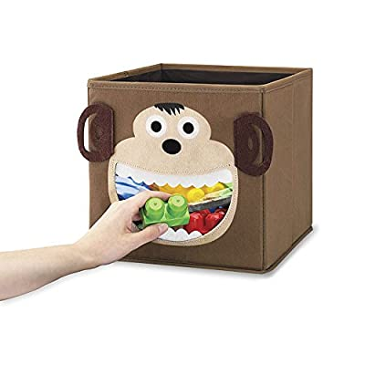 .com - Whitmor Monkey Collapsible Cube -