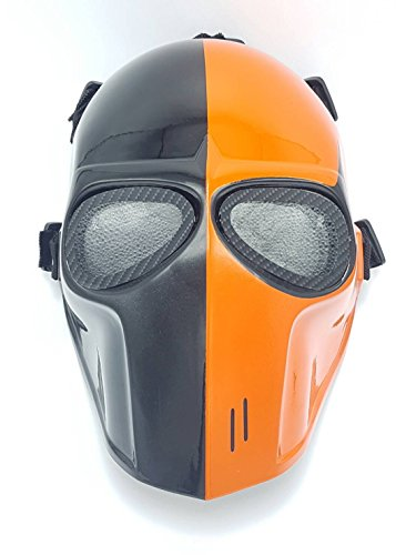 Airsoft Full Face Mask Army of two Cosplay Halloween mask Paintball Deathstroke Ghost Masks