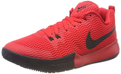 600 Red Chaussures Rouge Black Homme de Live NIKE University Zoom II Basketball nPzz0