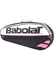 Babolat Unisex R Essential Racket Holder, schwarz/rosa, One Size