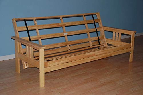 Best Buy! Monterey Futon Frame in Natural Finish