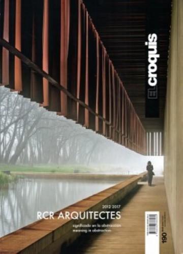 RCR ARQUITECTES, 2012 / 2017: Signicado en la Abstracción / Meaning in Abstraction (EL CROQUIS) Tapa blanda – 30 jun 2017 Publicación de Arquitectura Construcción y Diseño S.L. EL CROQUIS JAIME BENYEI