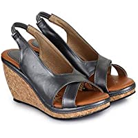 1STEP Fashionable and Stylish Heel Sandals for Women