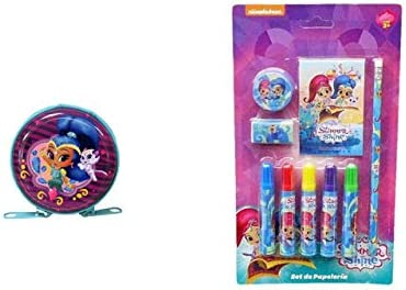 9932, Pack Shimmer and Shine; Compuesto por Monedero Redondo de ...