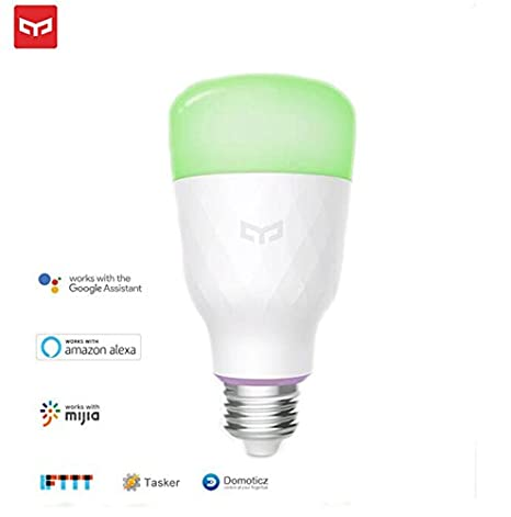 Alarm Lamp english Version Security & Protection Xiaomi Yeelight Smart Led Bulb Colorful English Version 800 Lumens 10w E27 Lemon Smart Lamp For Mi Home App