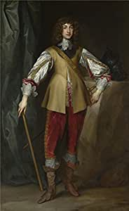 The high quality polyster Canvas of oil painting 'Studio of Anthony van Dyck Prince Rupert Count Palatine ' ,size: 12 x 20 inch / 30 x 50 cm ,this Best Price Art Decorative Canvas Prints is fit for Laundry Room decoration and Home decor and Gifts