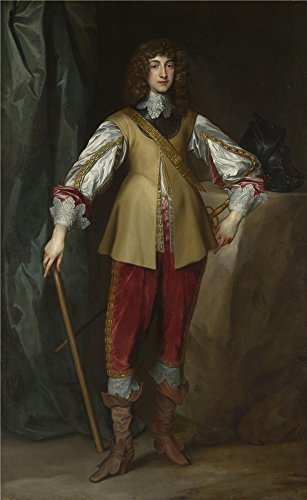 'Studio Of Anthony Van Dyck Prince Rupert Count Palatine ' Oil Painting, 24 X 39 Inch / 61 X 99 Cm ,printed On Perfect Effect Canvas ,this High Definition Art Decorative Canvas Prints Is Perfectly Suitalbe For Gym Gallery Art And Home Decoration And Gifts
