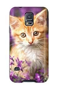 [LAgfHCf425drAUe]premium Phone Case For Galaxy S5/ Cat Tpu Case Cover