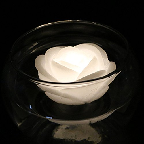 Floating Flower Rose Led Lights