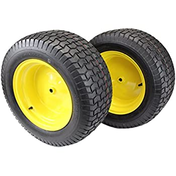 Amazoncom Set Of 2 16x650 8 Tires Wheels 4 Ply For Lawn