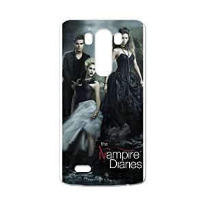 The vampire diaries Personalized Custom Phone Case Back Cover for Case for LG G3 (Laser Technology)