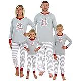 Sleepyheads Holiday Family Matching Winter Snowflake Pajama PJ Sets - Mens (SHM-5012-M-LRG)