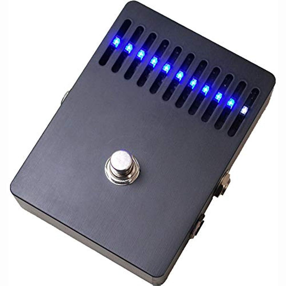 [해외] LEQTIQUE 10BAND EQ MATTE BLACK BLUE LED 10밴드 그래픽 이퀄라이저