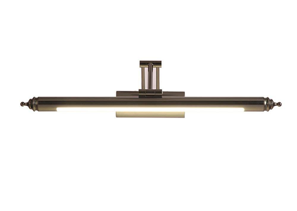 Moontang LED-Spiegel-Lichter, Spiegelkabinettlichter, Badezimmer-Moderne unbedeutende Spiegel-Lichter, Europäische Badezimmer-Lichter (Farbe   64cm, Größe   -)