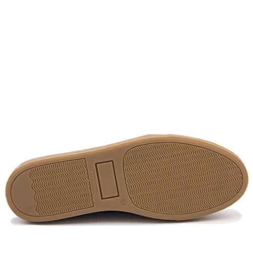 Azul Zapato de Sport CASTELLANISIMOS Azul Hombre Casual EN Piel qF1xawS