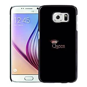 Fashion DIY Custom Designed Samsung Galaxy S6 Phone Case For Queen With Crown Phone Case Cover