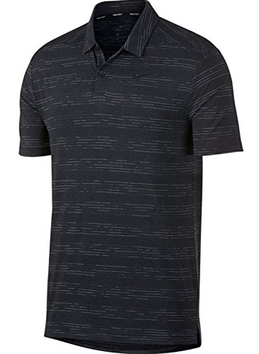 Nike Dry Heather Texture Golf Polo 2018 Anthracite/Black/Wolf Gray X-Large