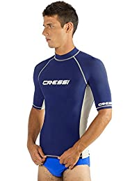 Cressi Mens Short Sleeve Rash Guard