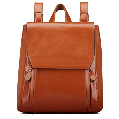 HOBOP JHB700025C3 Fashion Genuine Leather College Wind Women's Handbag,Square Cross-Section - Australia Online Cards Gift