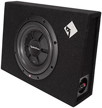 Rockford Fosgate R2S-1X10 Prime R2S Single 10-Inch Shallow Loaded Enclosure Renewed