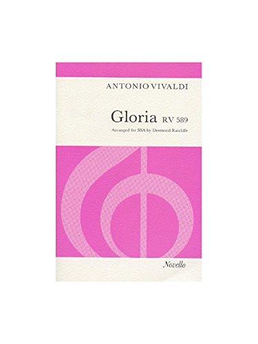 Antonio Vivaldi: Gloria RV.589 (SSA). Partituras para SSA, Acompañamiento
