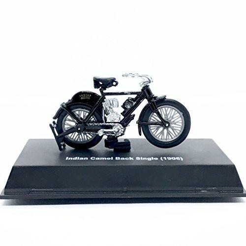 Indian 1906 Camel Back Single Motorcycle - 2018 NewRay Toys 1:32 Scale (3 Inch) Vehicle & Custom Display Base
