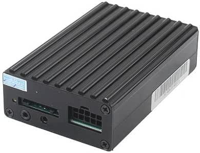 Wewoo localizador GPS Coche en Tiempo Real/gsm/GPRS Vehicle Tracker System Device con Altavoz Negro