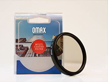 Omax 58mm CPL Multi Coated Filter for Canon EF S 55 250 mm f/4 5.6 is II Lens Polarizing Filters