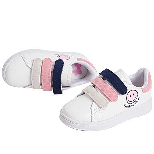 Pictures of Deesha Kids' Runner Sneaker (11M Pink) Pink 11 M US 1