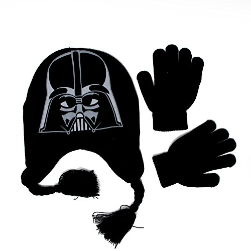 Boys 'Star Wars Classic' Winter Hat and (Ninja Turtle Hats And Gloves)