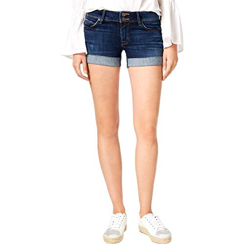 Hudson Jeans Women's Croxley MID Thigh Flap Pocket Jean Short, Double-Deal, 25