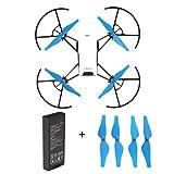 Fiaya Intelligent Flight Lipo Battery 1100 mAh 3.8V For DJI Tello Quadcopter Drone (Blue (1PCS))