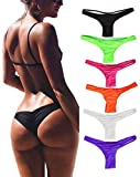 FUT Women's Hot Summer Brazilian Beachwear Bikini Bottom Thong Swimwear