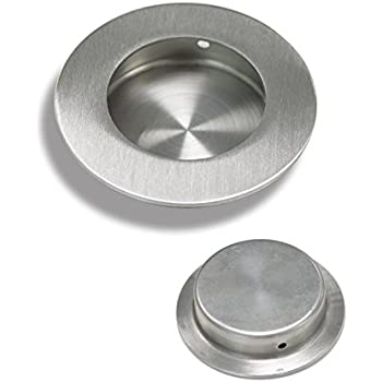 Gobrico 304 Stainless Steel Round Circular 65mm Recessed