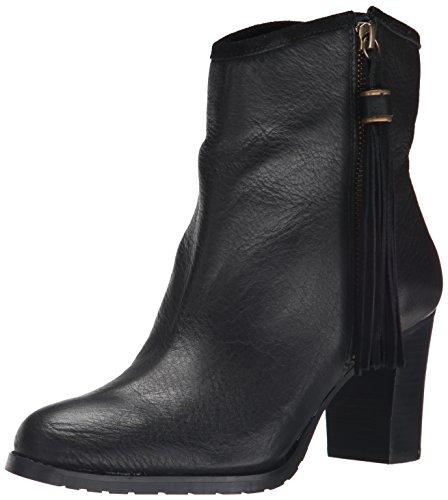 Ralph Lauren Women's Carah Boot, Black Veg Tumbled Pull U...
