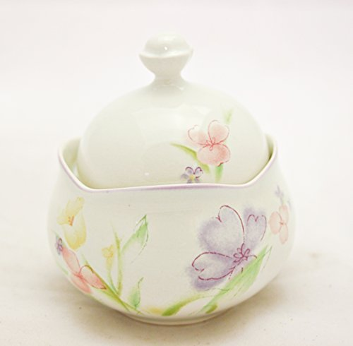 Mikasa Water Colors Sugar Bowl with Lid