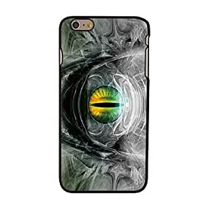 DDL Creepy Eye Style Plastic Hard Back Cover for iPhone 6 Plus