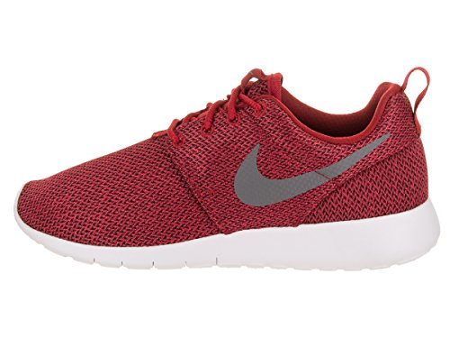 Nike Kids Roshe One Scarpa Da Corsa Gym Rosso / Freddo Grigio Antracite