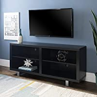 Deals on Walker Edison 58-inch TV Console with Metal Legs