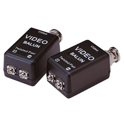 Lupus Electronics–BALUN (Pair) for Transmission of Analogue Camera 2Wire Lines 10839 Analogue Line