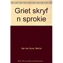 Amazon afrikaans literature fiction books griet skryf n sprokie afrikaans edition fandeluxe Gallery