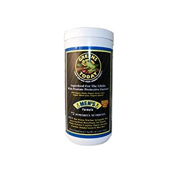 The Organic Frog - Greens Today Men's Formula, 26.4 oz powder ( Multi-Pack) by GREEN'S TODAY