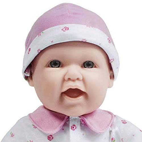 418u7TLDzUL - JC Toys, La Baby 16-inch Pink Washable Soft Baby Doll with Baby Doll Accessories - for Children 12 Months and Older, Designed by Berenguer